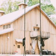 Rustic Barn With Rope Swing