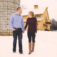 Engagement Photos at The Silos